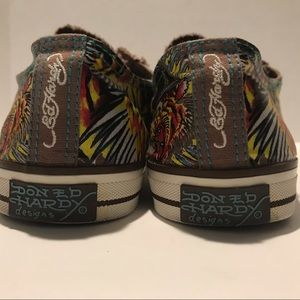 Ed Hardy Shoes - Ed Hardy Neutral Elastic Closure Sneaker  10